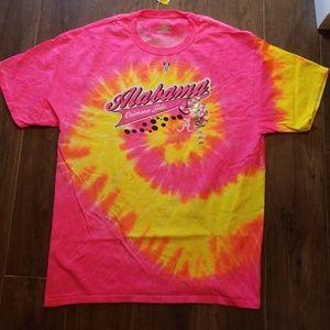 《 NWT 》Alabama Crimson Tide Tie Dye T-Shirt